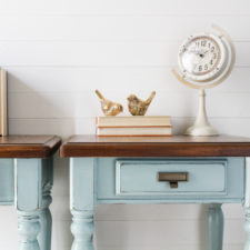 Country End Tables in Elegance