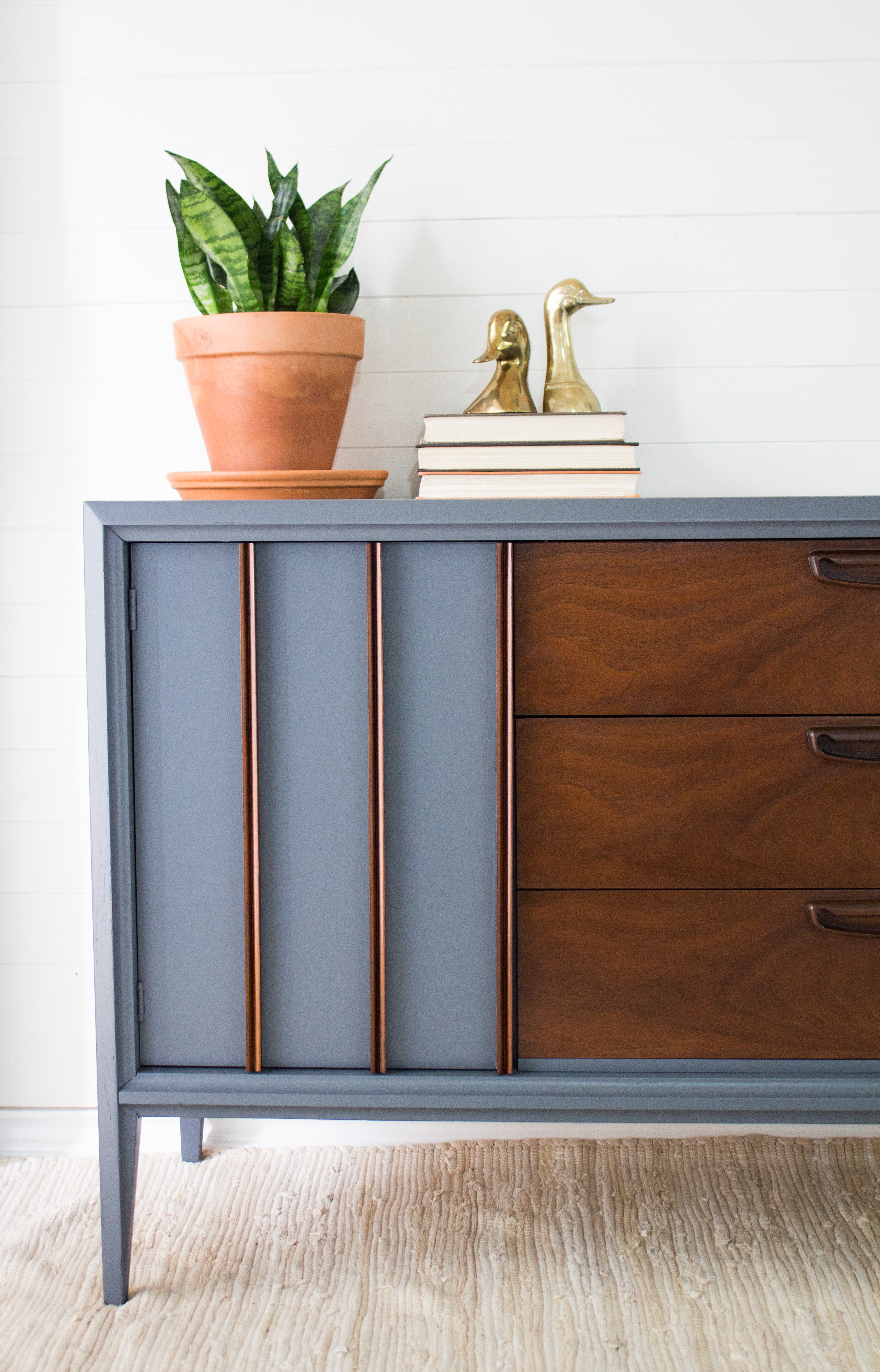 Fusion Mineral Paint Soapstone Mid Century Modern Furniture ...