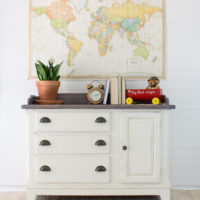 Driftwood Finishes in a Nursery